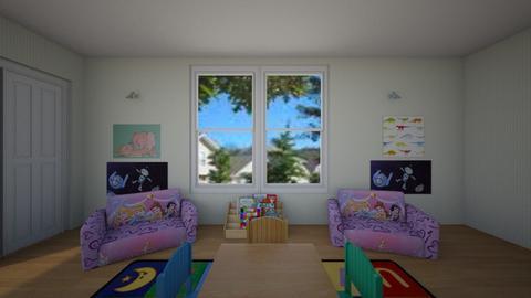 Luis Playroom A - Kids room - by karinagranado