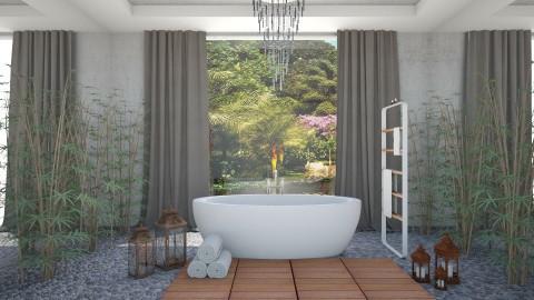 Royce Morgan - Modern - Bathroom  - by aletamahi