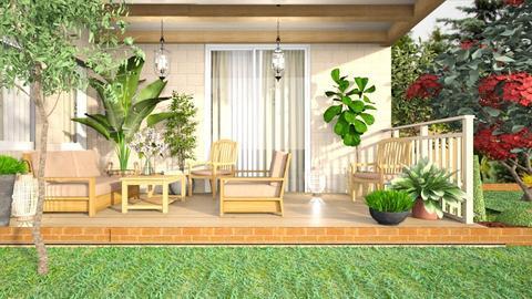 Patio - Garden  - by iraa