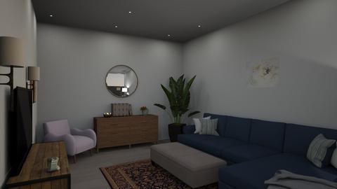 assignment 3 - Modern - Living room  - by cassandrarivas