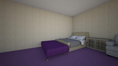 puple  - Modern - Bedroom  - by livvvy