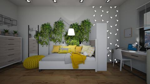 Dorm Room - Minimal - by lsrrzn