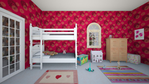 4 - Kids room  - by abigailredon