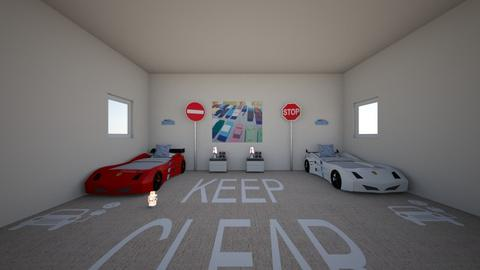 car  - Kids room  - by fades