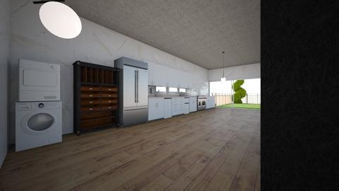 container house draft 2 - Kitchen  - by freddypyjamas