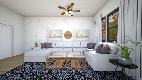 Minimal Living Room - by CaramelPopcorn