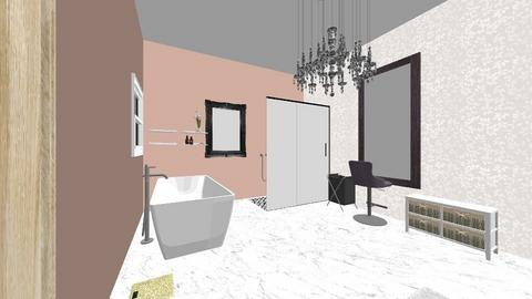 Fancy Bathroom master - Glamour - Bathroom  - by taylorgrider16