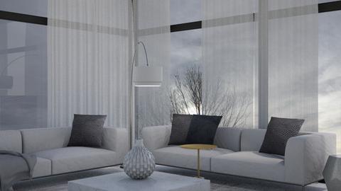 LIVING ROOM - Modern - Living room  - by diklaomezgin