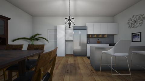 fancy kitchen - by Raven15