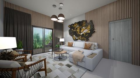 Family Room_Nordic - Modern - Living room  - by danes