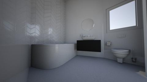 Transitional bathroom Kri - Classic - Bathroom  - by Kristina Mifsud