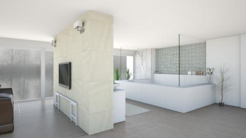 Light Bathroom - Minimal - Bathroom - by Sophia Cooper