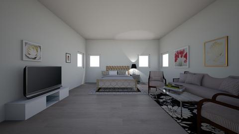 Luxury Bedrooom - Glamour - Bedroom  - by valentena