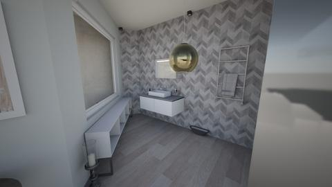 LSD Project WC 1 Final - Glamour - Bathroom  - by Medina Touch