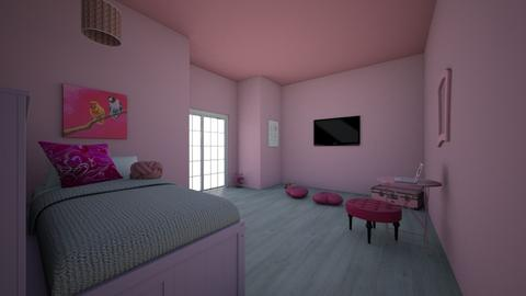 Girly Pink - Modern - Bedroom  - by chezar