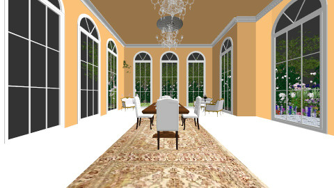 French Classical  - Living room - by Amanda_remp