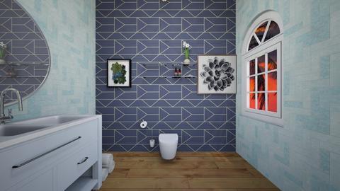 Modern Bathroom - Modern - Bathroom  - by slothsarethebest
