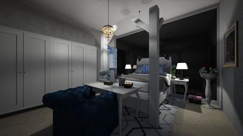Greek bedroom - Bedroom  - by Doraisthe_nameofmydoggo12345