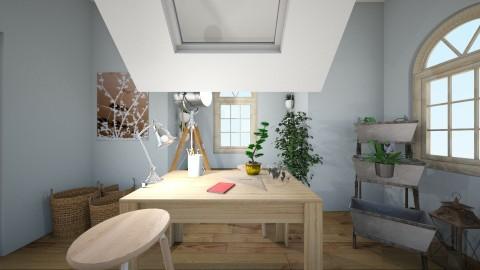 Sun Room - Rustic - Garden  - by caseyyocks