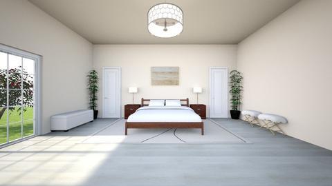 Cozy Bedroom - Modern - Bedroom  - by reaganxavier