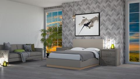 sunset bedroom - Bedroom  - by GermanFriday