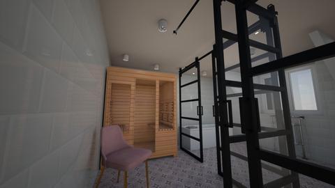 sdb sauna 1 - by genevievet