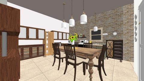 Kitchen - Rustic - Kitchen  - by callieb