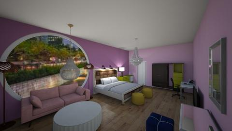 bedroom 2_A - Classic - Bedroom  - by siddhi0103