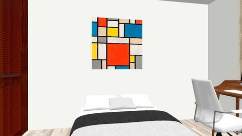 Cuarto Edson - Bedroom  - by torreds