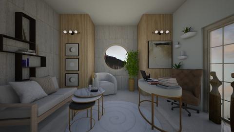circle work - Office  - by vasilikif