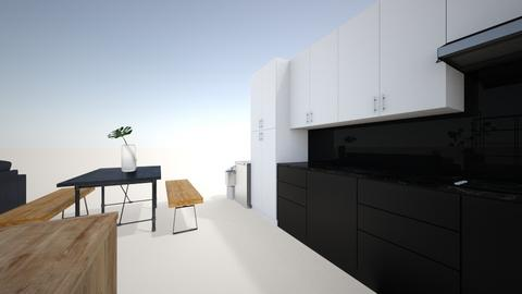 Kitchen and living room - Modern - Kitchen - by KAYPRI