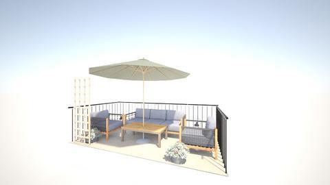 Balcony - Garden  - by UniverseFloater