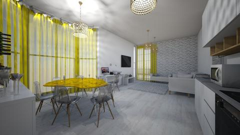 Apartamento funcional  - Minimal - Living room  - by kelly lucena