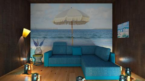 beach living room - Living room  - by Malshi