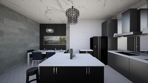 cool kitchen - Kitchen  - by Derrick J