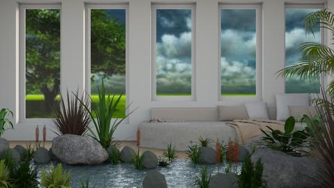Calm Water - Garden  - by millerfam
