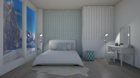 Frosty - Modern - Bedroom  - by millerfam