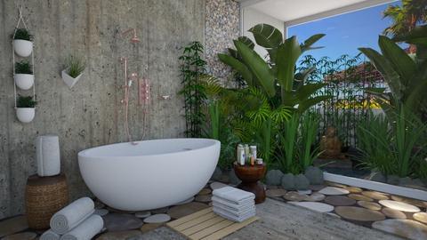 Island Vibes Bathroom - Modern - Bathroom  - by Irishrose58