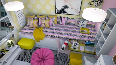 Do your homework - Bedroom  - by VarSutari