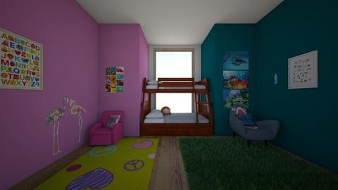 Twin Shared room - Kids room  - by muleokk