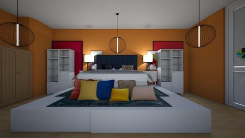 quarto    colorido - Bedroom  - by sophia  ester