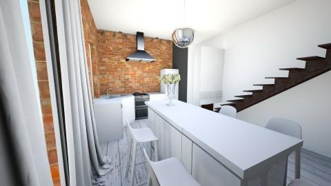 konc - Retro - Kitchen  - by ewcia11115555