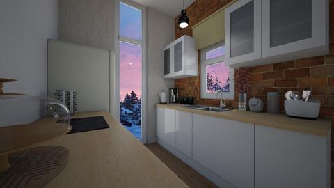 smol - Kitchen - by SpookyjimKilljoy