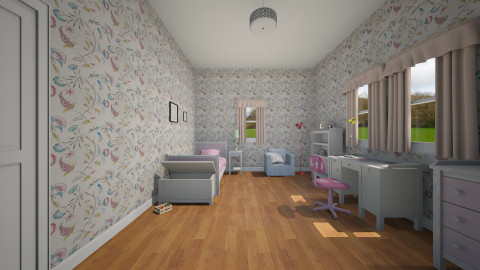 Olivia - Feminine - Kids room - by Everlast