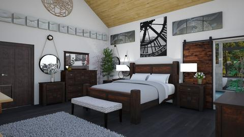 AV Master Bed - Bedroom  - by Amyz625