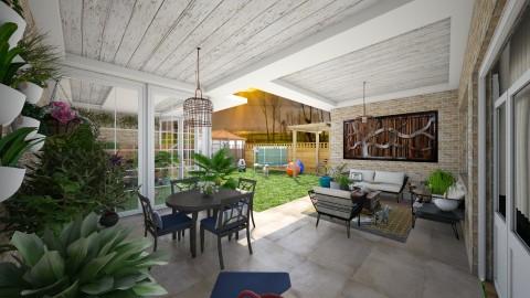backyard II - Garden - by Conchy