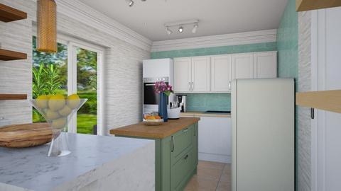 INGRID LIVING ROOM v4 - Dining room  - by Aurel Design Studio