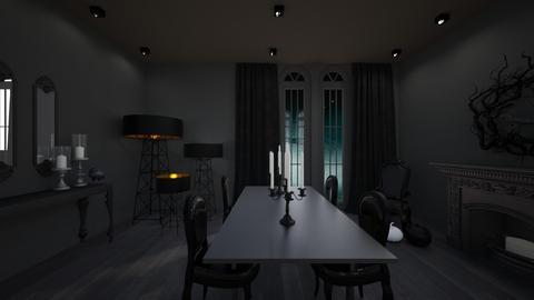 Halloween - Vintage - Dining room  - by endigbg