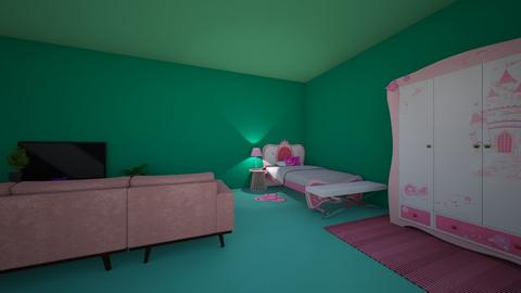 BARBIE_MISTY BEDROOM - Bedroom - by luxury winter decoration