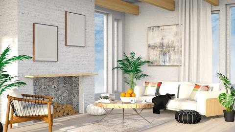 Japandi_Contest_millerfam - Living room  - by millerfam